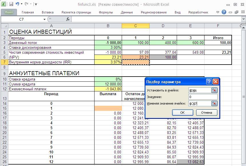 Программу Ануитентных Платежей По Кредиту